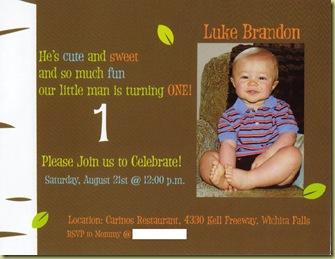 Bday Invite 2010