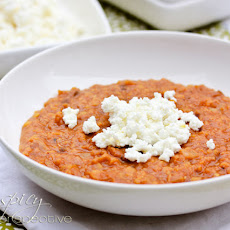 Mesir Wat Red Lentil Stew with Ayib