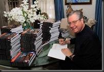 DAZ Signing books