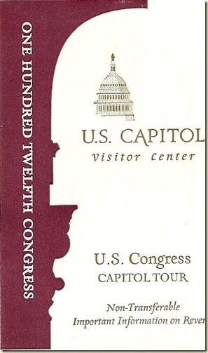 US Capitol badge