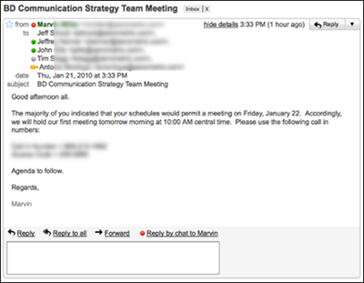 sample meeting request template .