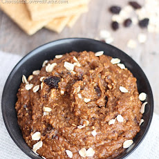 Oatmeal Raisin Cookie Dough Dip