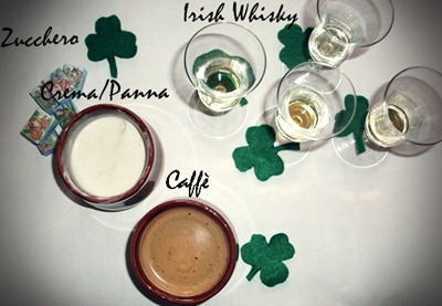 Ingredienti irish coffee