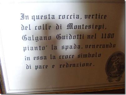 Gita a San Galgano santantimo e Pienza 053