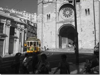 Il mitico tram n.28 a Lisbona