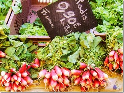 mercato provenzale a Sanary sur mer