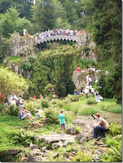 Il ponte del diavolo al wilhelmshohe