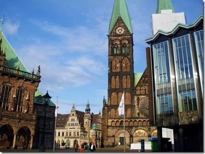 il Markt, la Piazza di Brema