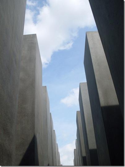La forset di steli del Holocaust-Mahnmal di Berlino