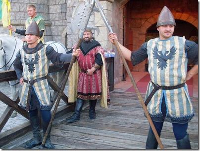 Ingresso del castello a Medieval Times