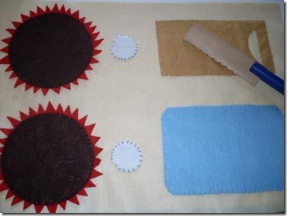 Kitchen playmat - tovaglietta di feltro per giocare alla cucina