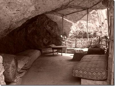 Un angolo  berbero alle cascate di Ouzoud