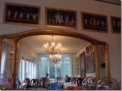 La sala colazioni dell'Hotel Villa Margherita a Limone