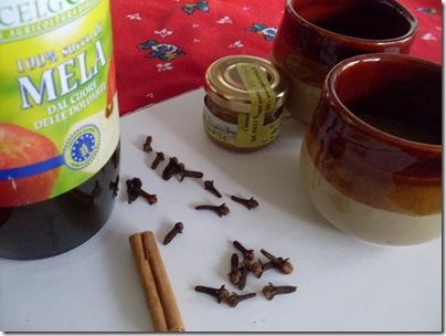 Ingredienti brulè alla mela