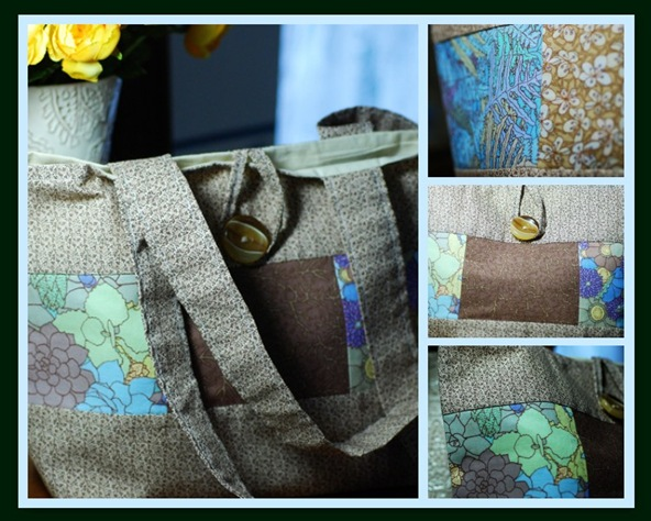 Tote mosaic