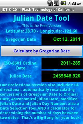 Julian Date Tool FreeVersion