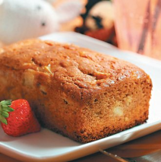 甜牙齒俱樂部-香蕉蛋糕-喜生米漢堡分享