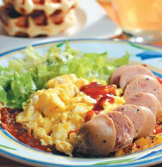 甜牙齒俱樂部-德式香腸套餐-喜生米漢堡分享