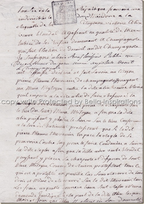 French Documents 003