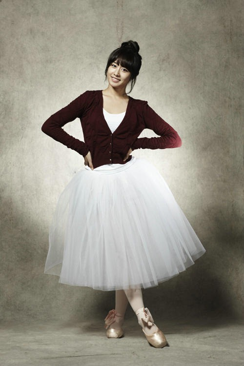 t-ara ji yeon ballerina