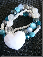 SLB005 Blue Heart Coolness $6