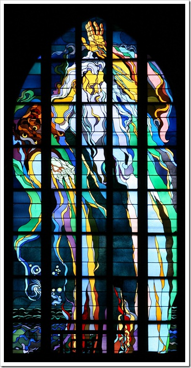 Kraków_-_Church_of_St._Francis_-_Stained_glass_01
