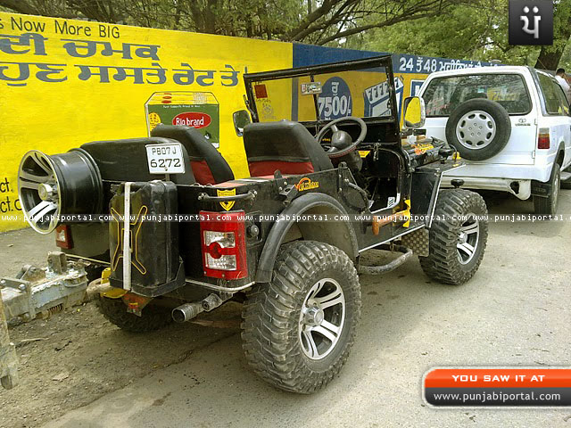 Open Jeep in Punjab http://www.punjabiportal.com/articles/willy-jeeps-in-punjab-a-photographic-collection