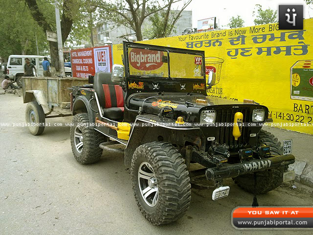 landi jeep, willy, willy punjab, mahindra jeep