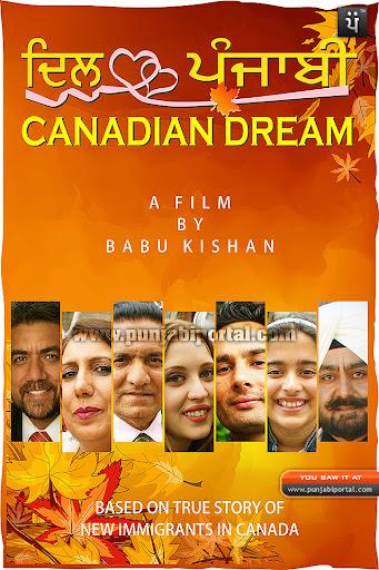 Dil Punjabi Canadian Dream film poster