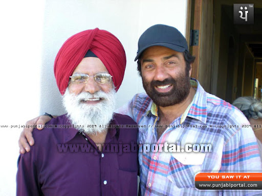 A recent snap of the Author with Sunny Deol