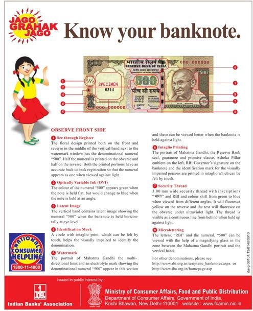 Know Bank Note नकली नोट