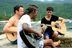 Day 3: Post-breakfast jam sessions with the local Rasta on the Ilha Grande.