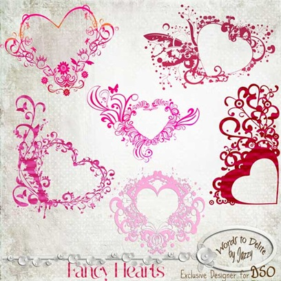 Fancy-Hearts