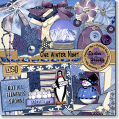 darlene one winter night kit