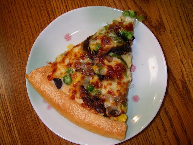 素食pizza