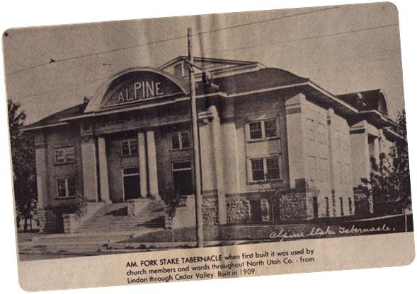 Utah Alpine Stake Tabernacle