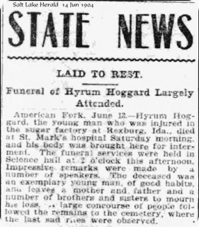 Huggard Hyrum Jr Obituary 14Jun1904