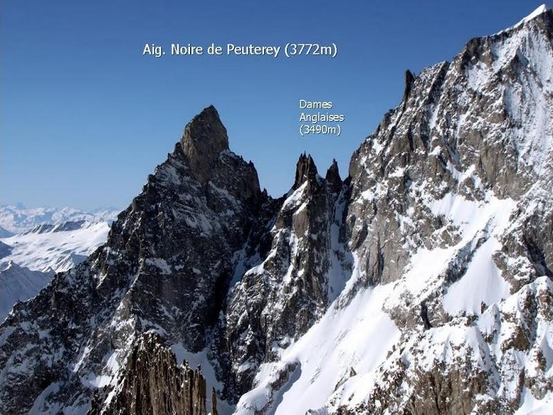 Prezentare Peuterey si Policandrul