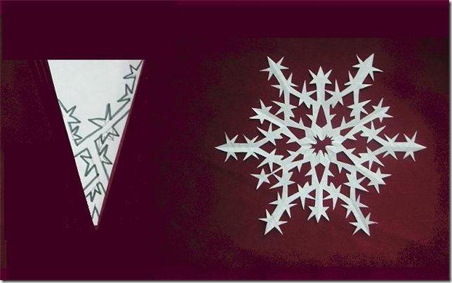 Как делать самостоятельно снежинки - Корпоративный портал