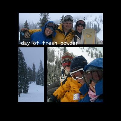 Shasta Snowboarding 2