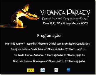 Programa��o Dan�a Paraty 2009