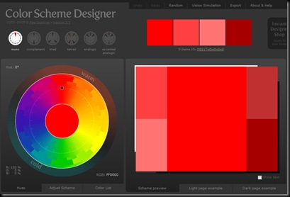 Color Scheme Design