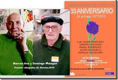 33 aniversario abogados de Atocha