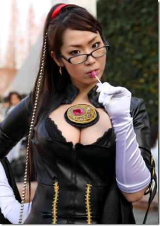 bayonetta cosplay - bayonetta from winter comiket 2009