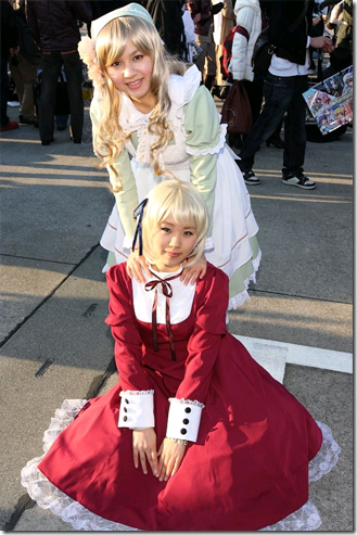 unknown cosplay 50 / hetalia: axis powers cosplay - hungary and liechtenstein