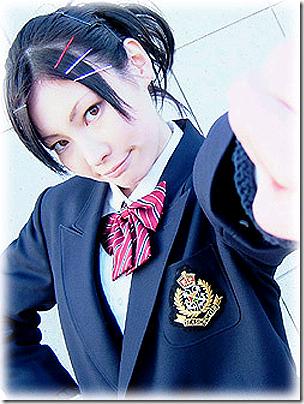 katekyo hitman reborn! cosplay - miura haru