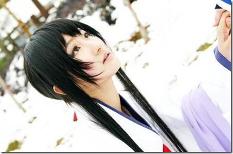 rurouni kenshin / samurai x cosplay - yukishiro / himura tomoe