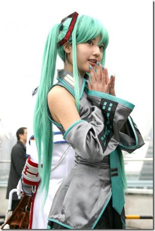 vocaloid 2 cosplay - hatsune miku 02