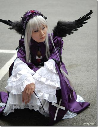 rozen maiden cosplay - suigintou 04