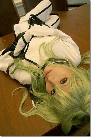 lelouch of the rebellion cosplay - c.c.